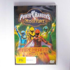 Power Rangers Mystic Force Volume 3 Fire Heart DVD Region 4 AUS Free Post