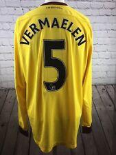 Arsenal football Shirt Nike Adults L Away Kit Long Sleeves Vermaelen 5. Gunners