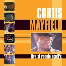 Live at Ronnie Scott's by Curtis Mayfield (dual disc NEW SEALED dvd & CD