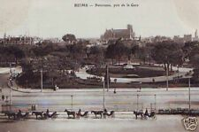 CPA Marne Reims Panorama pris de la Gare (p84962)