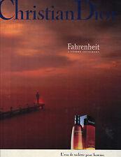 PUBLICITE ADVERTISING 1988  DIOR  cosmétiques