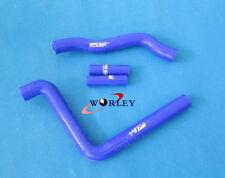KAWASAKI KX250 2005 2006 2007 05 06 07 silicone radiator hose kit blue