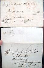 1818 Lotto Di Two Prephilatelics English Ramsgate
