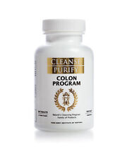 Cleanse Purify : Colon Program : Pure Body Institute : 1 Month Supply - Tablets