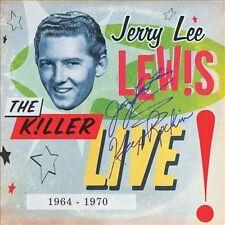 The Killer Live (1964-1970) [Digipak] by Jerry Lee Lewis (CD, Jul-2012, 3 Discs, Mercury)