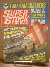 Ramchargers Dodge Dart Nitro Funny Car July 1967 Super Stock Drag Illustrated