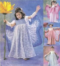 2002 Fairy Costume Child's 3/4/5/6 & Girls' 7/8 Sewing Pattern McCall's 3758 OOP