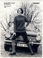 """Woman Knitwear """"OPEL KADETT A"""" bution * vintage 50s fashion photo by seufert"""