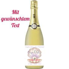 Flaschenetikett/Flaschenaufkleber *Perlenhochzeit*   *30.Hochzeitstag*
