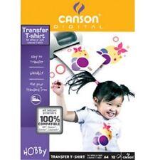 Canson 204567480 T-shirt Inkjet-transfer-folie 140 G/qm