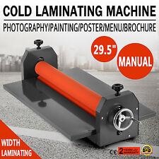 "29.5"" 750MM LAMINATRICE A FREDDO COLD LAMINATOR LAMINATING MANUALE PHOTO POPULAR"