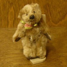 "Russ Berrie MO BEARS & FRIENDS #21051 CHESTERFIELD, 3+"" Mohair From Retail Store"