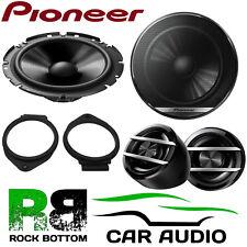 Pioneer Vauxhall Astra J 2010 Onwards 600 WATT Component Front Door Car Speakers