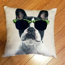 French Bulldog Boston Terrier Pillow New