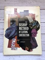 Vintage The Bishop Method of Clothing Construction Book 1959 1950's Housewife