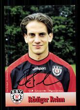 Rüdiger Rehm Autogrammkarte SSV Reutlingen 2002-03 Original Signiert+A 149516