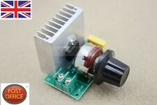 AC 220V 3800W SCR Regulador De Voltaje oscurecimiento atenuadores Velocidad Controlador Termostato