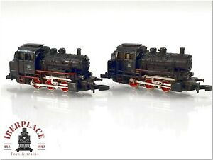 Z 1:220 scale Marklin mini-club model-trains locomotive class 89 Set 2x <
