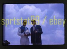 1963 Parnelli Jones Award Scene - Usac Trenton 150 - Vintage 35mm Race Slide