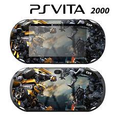 Vinyl Decal Skin Sticker for Sony PS Vita Slim 2000 Transformers Bumblebee 2