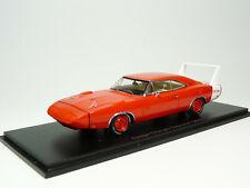 Spark S3611 1/43 1969 Dodge Charger Daytona Resin Model Car
