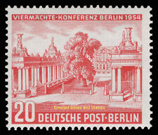 EBS West Berlin 1954 Four Power Conference Michel 116 MH*