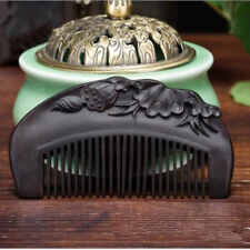 1pc Sandalwood Comb High-grade Engraved Combsbrushes Lotus Seed Creative Wooden