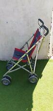 Maclaren Major Elite charcoal /red Mobility Buggy & footplate  UK postage