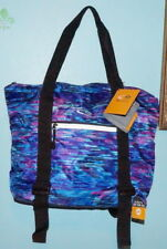 Champion® Yoga Bag With Yoga Mat Straps Blue Purple Water Resistant $20 NWT F/Sh