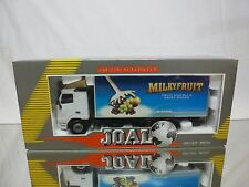 JOAL COMPACT 353 VOLVO FH12 - MILKYFRUIT DAIRY SNACK - WHITE 1:50 - GOOD IN BOX