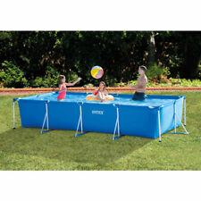 "28273NP Frameset Swimming Pool Rectangle 4.5m x 2.2m 177.25"" x 86.625"" By Intex"