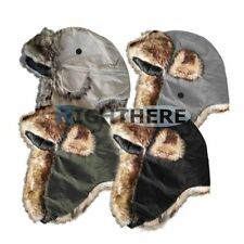 Faux Fur Women's Aviator/Trapper Hats