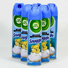 6 Air Wick Air Freshsener Spray Snuggle Fresh Linen Scent 8oz