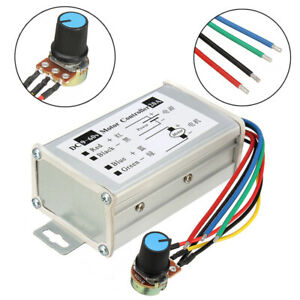 DC 9V-60V 20A Pulse Width Modulator PWM Motor Speed Controller Switch/Control UK