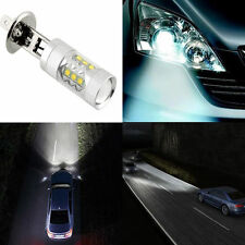 Super Bright White H1 CREE 80W LED Fog Tail Turn DRL Head Car Light Lamp Bulb