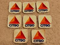 Lot of 8 Vintage Automotive Gasoline Patch - CITGO - From A Gas Station Uniform