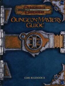 DUNGEON MASTER'S GUIDE EXC! D&D Dungeons Dragons 11551 D20 D&D 3.0 v3.0 Core II