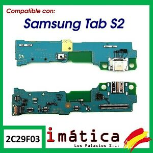 PLACA DE CARGA CONECTOR USB PARA SAMSUNG GALAXY TAB S2 T810 T813 T815 BOTON