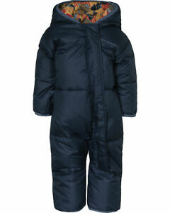 Columbia Snuggly Bunting Down Junge blau Daunen Schneeanzug Gr. 80 NEU