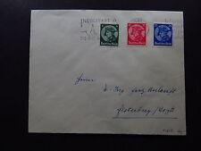 cover Deutsches Reich Germany Ingolstadt Donaustadt Mi 479 480 481 1934