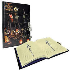 NECA Nightmare Before Christmas DIARY W/ Lock Journal NBX Jack Sally Hard cover