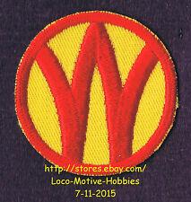 "LMH PATCH Badge  NEW YORK ONTARIO & WESTERN Railway NYO&W O&W Railroad Orange 2"""