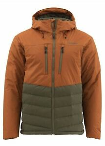 SIMMS West Fork Jacket Medium Saddle Brown New W Tags Closeout Free Shipping
