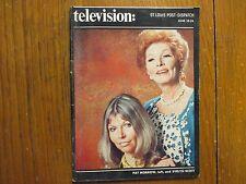 June-1972 St. Louis TV Magazine(EVELYN  SCOTT/PAT  MORROW/RETURN TO PEYTON PLACE