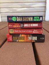 DAN BROWN Novels ( Lot Of 4)