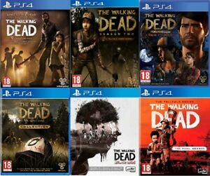 The Walking Dead PS4 Telltale Series Season MINT CONDITION - Super Fast Delivery