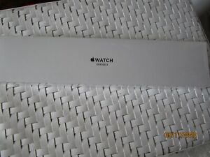 Apple Watch Series 3 GPS White Sport Band 38mm Silver MTEY2LL/A Sealed In Box