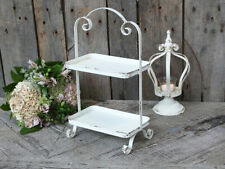 Vintage Etagere Chic Antique Metall shabby chic Brocante Landhaus