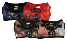 "Dog Soft Harness Vest - iPuppyOne - Caribbean Pirate - Red Gray Blue - 17"" Chest"