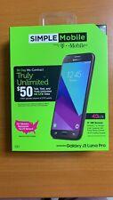 *NEW UNLOCKED* Samsung Galaxy J3 Luna Pro Black 16GB 4G LTE T-Mobile,AT&T